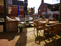 Outdoor café in Winsum